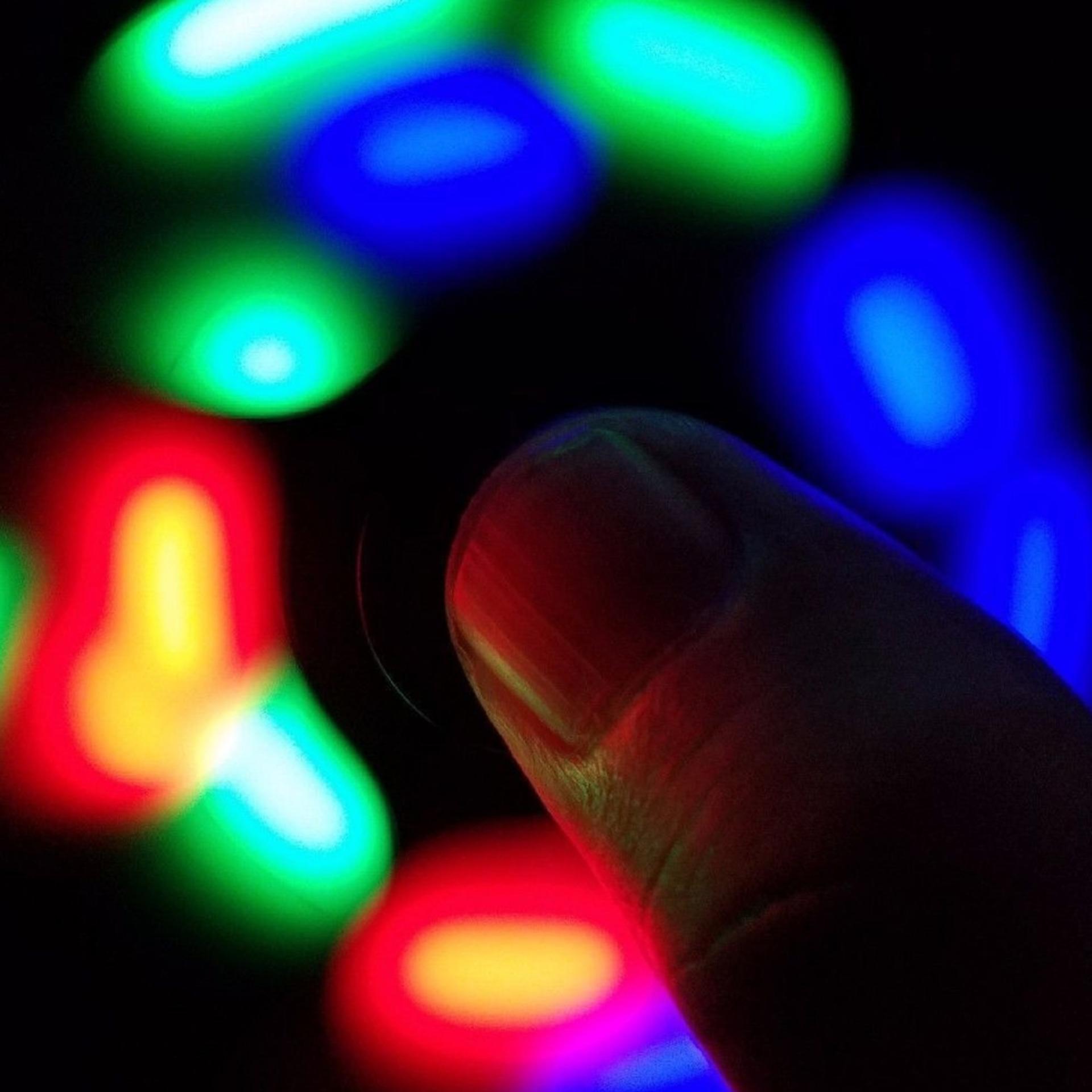 ANGEL LED Fidget Spinner Hand Toys Mainan Tri-Spinner EDC Ceramic Ball Focus Games Penghilang ...