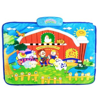 Animal Choir Playmat - Mainan Edukasi Melatih Motorik Untuk BayiDan Anak - Mainan Edukasi Anak Mainan Murah Mainan Edukasi LucuKarpet Anak Karpet Lucu Karpet Murah Kado Bayi Mainan Best SellerMainan Seru Mainan Anak & Balita Multicolour