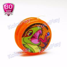 Auldey Blazing Teens Standard Edition Mainan Yoyo Legendary Warriors Jade Snake - Orange