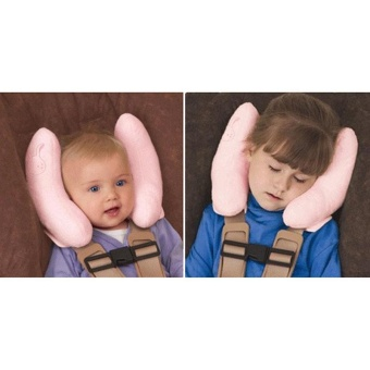 Baby Children Car Seat Headrest Cushion Travel Pillow Infant Head Support Neck - intl