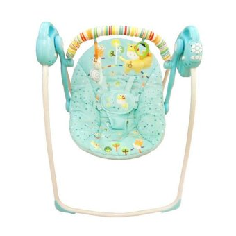 Baby Elle Portable Swing Electric - Blue