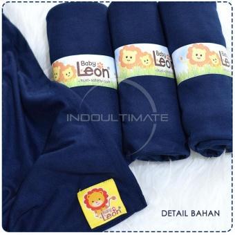 BABY LEON GENDONGAN Bayi Kaos/Geos/selendang Bayi Praktis BY 44 GBPolos Ukuran M - Navy Blue - 5