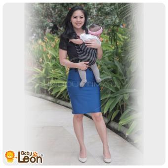 BABY LEON GENDONGAN Bayi Kaos/Geos/selendang Bayi Praktis BY 44 GBSALUR Ukuran M