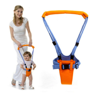 Harga Baby Moonwalk Walking Assistance - Alat Bantu Jalan - Biru Orange