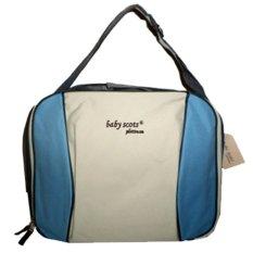 Baby Scots Platinum - Mommy Bag 49 - Biru