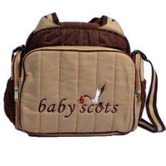 Baby Scots - Tas Bordir Type 2 - Coklat