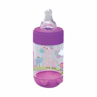 Babysafe Botol Susu 125ml AP001 (Ungu)