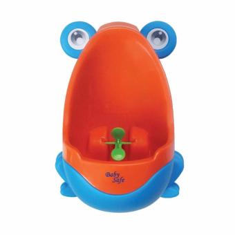 Babysafe Boys training potty / latihan pipis / Pispot cowok / pispot boy (Biru)