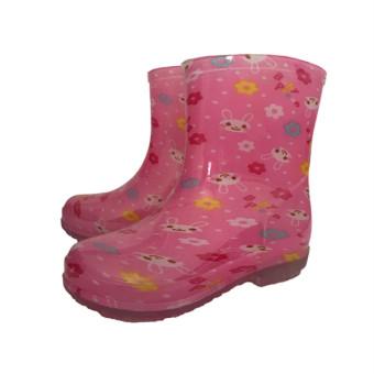 Baobao gadis anak laki-laki dalam tabung sepatu tergelincir sepatu anak-anak hujan sepatu