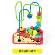 Baobao untuk pria dan wanita bayi bayi anak usia dini mainan di sekitar manik-manik