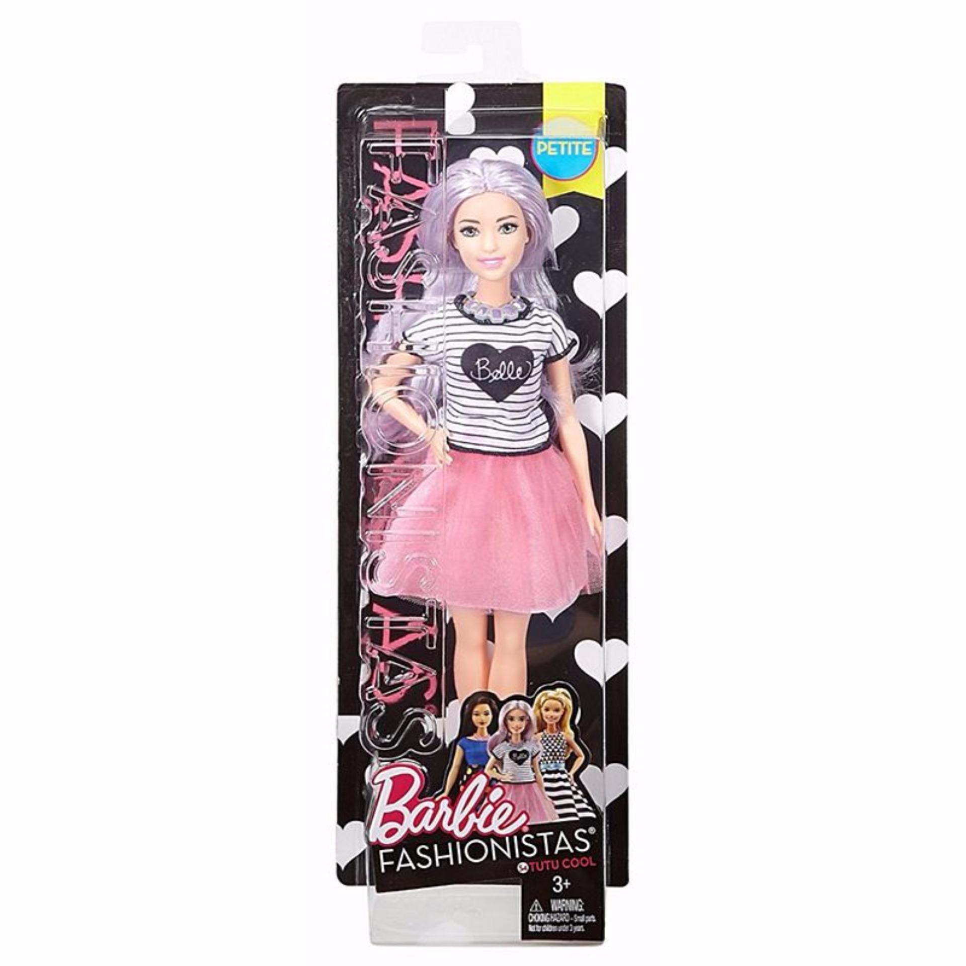 Barbie(R) Fashionistas(R) Doll 54 Tutu Cool - Petite .