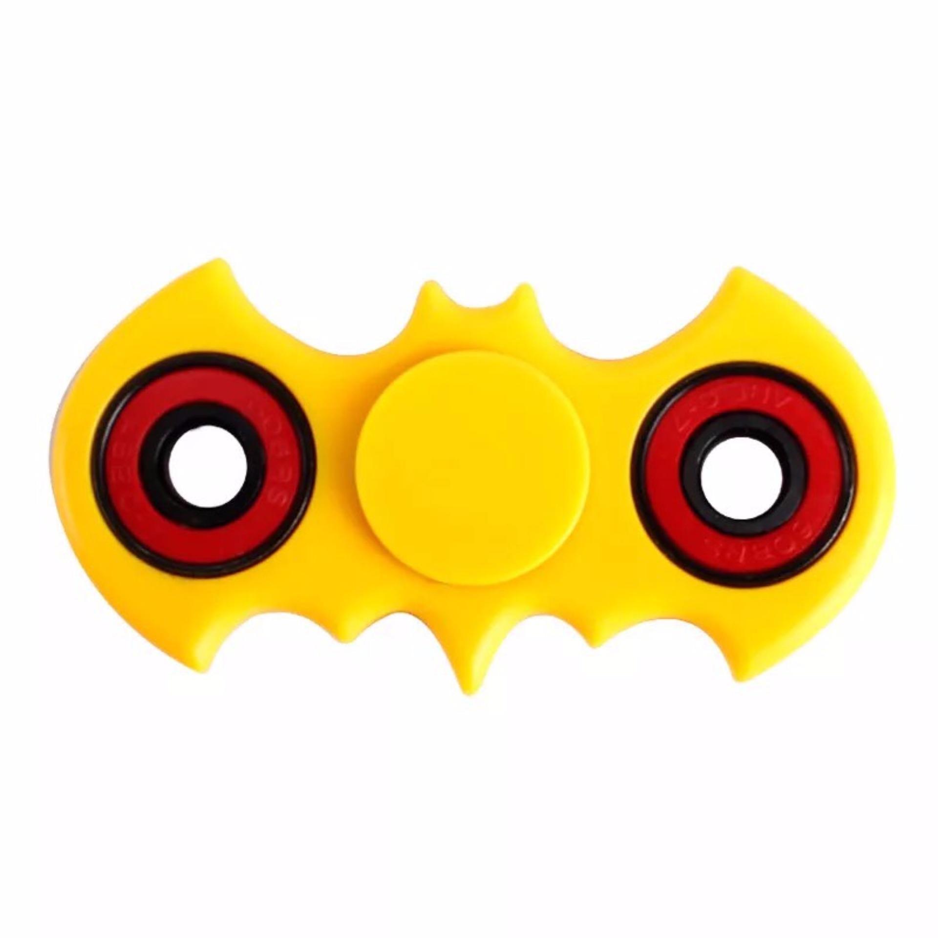 ... Batman Fidget Spinner Hand Toys Mainan EDC Ceramic Ball Focus Games Batman - Kuning ...