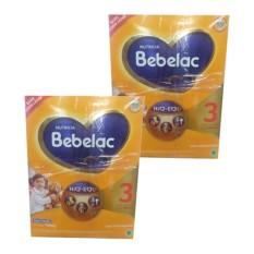 Bebelac 3 Bebenutri Plus Susu Pertumbuhan - Vanila - 1000gr - Bundle 2 Box