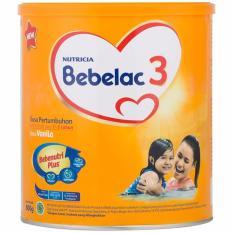 Bebelac 3 Bebenutri Plus Susu Pertumbuhan Vanilla 400g - 1800g