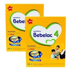 Bebelac 4 Bebenutri Plus Susu Pertumbuhan - Madu - 1800 gr - Bundle isi 2 Box