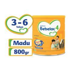 Bebelac 4 Bebenutri Plus Susu Pertumbuhan - Madu - 800 gr