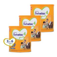 Bebelac 4 Bebenutri Plus Susu Pertumbuhan - Madu 800 gr - Bundle 3 Kaleng