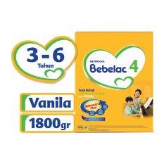 Bebelac 4 Bebenutri Plus Susu Pertumbuhan - Vanila - 1800 gr