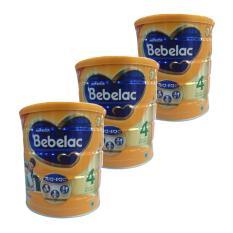 Bebelac 4 Bebenutri Plus Susu Pertumbuhan - Vanila 800 gr - Bundle 3 Kaleng