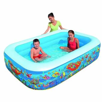 Bestway Sea Life Play Pool 229cm. Kolam Renang Angin Anak 54120