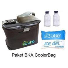 BKA Paket Cooler Bag + Botol Kaca Asi + Icegel