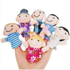 Boneka Jari family - isi 6pcs