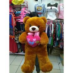 Boneka Teddy Bear Jumbo Beruang Besar Love