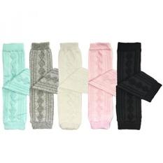 Bowbear Set of 5 Baby & Toddler Leg Warmer Collection Premium Value Pack, VS5 - intl