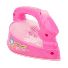 BU Lovely Pink Mini Irons Pretend Play Home Appliance Mainan Untuk Anak Bayi .