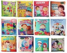 Buku Kainku Paket Buku Kain / Soft Book - Seri Anak Muslim 12 pcs