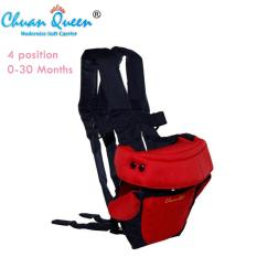 Chuan Queen Baby Carrier 4 In 1 Gendongan Bayi (Merah)