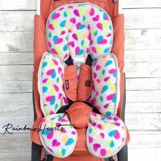 Cuddle me  Cuddleme Seat Pad (alas stroller / car seat) Motif Raimbow Heart