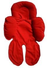 Cuddle Me Seat Pad / Alas Stroller / Alas Car Seat - Merah