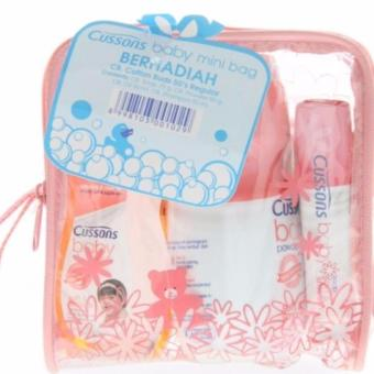 Cussons Baby Mini Bag pink