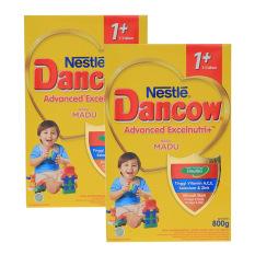 DANCOW ADVANCED EXCELNUTRI 1+ Madu Box 800g - Bundle Isi 2 Box