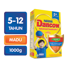 DANCOW ADVANCED EXCELNUTRI 5+ Madu Box 1kg