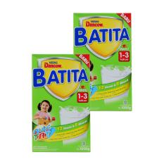 DANCOW BATITA Nutri TAT Madu Susu Pertumbuhan 1-3 Tahun Box 1kg - Bundle Isi 2 Box