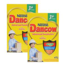 Dancow Excelnutri 3+ Usia 3-5 tahun - Madu - 800gr - Bundle isi 2 Box