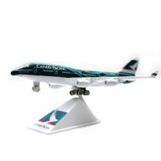 Die Cast Miniatur Pesawat Cathay Pacific Boeing B747
