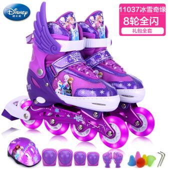 Gambar Disney penuh anak laki laki dan perempuan skating sepatu sepatu roda  anak 04040cce62