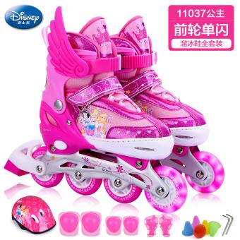 Disney penuh anak laki-laki dan perempuan skating sepatu sepatu roda anak.       1d84b396ac