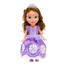 Disney Sofia The First Figurehead Doll-Ungu