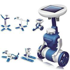 DIY Hybrid Mainan Solar - Educational 6 in 1 Robot Kit Toy