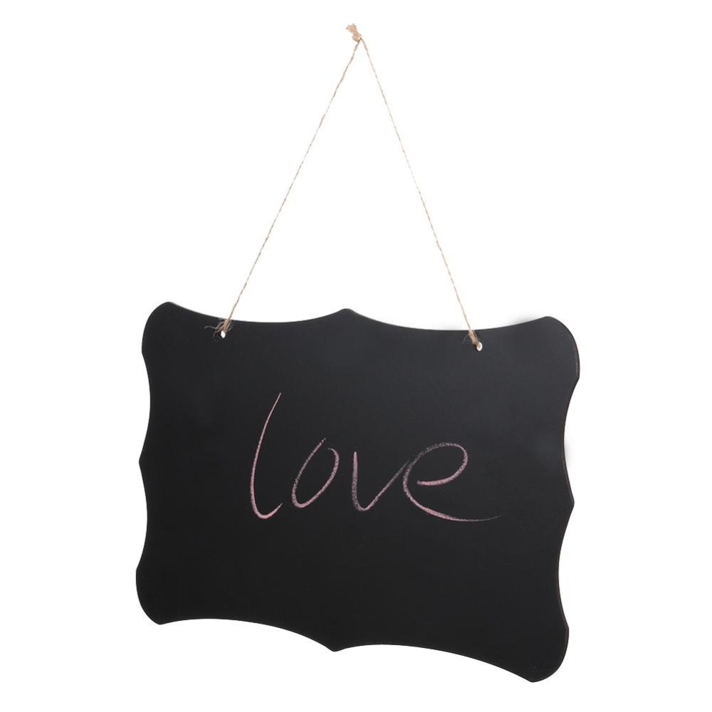 Double Sided Erasable Message Board with Hanging String - intl .