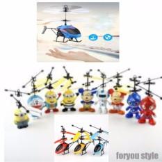 Drone Terbang Mainan Anak Sensor Tangan - Random