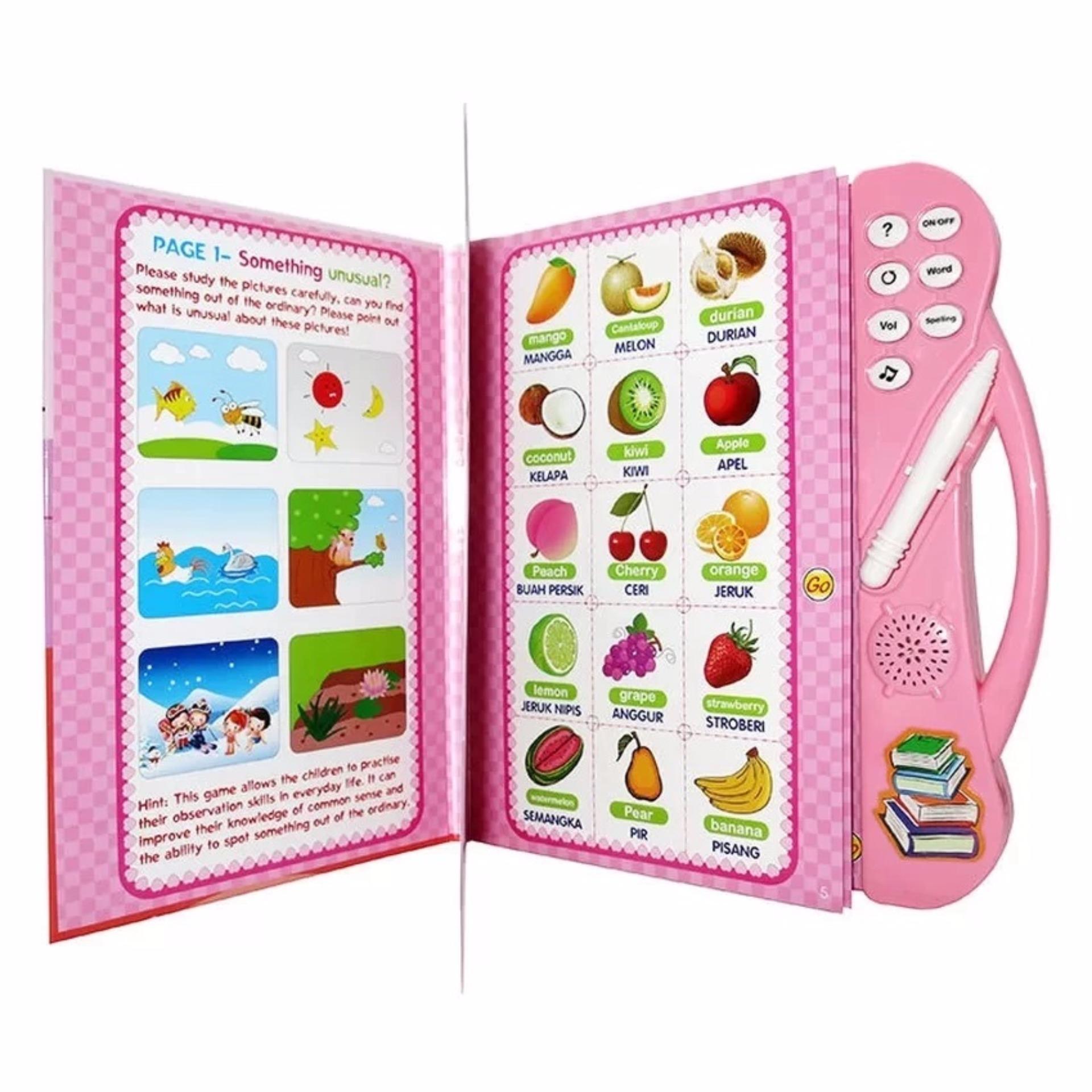 ... Mainan Source · E Book 2 Bahasa Bahasa Indonesia & Bahasa Inggris Pink