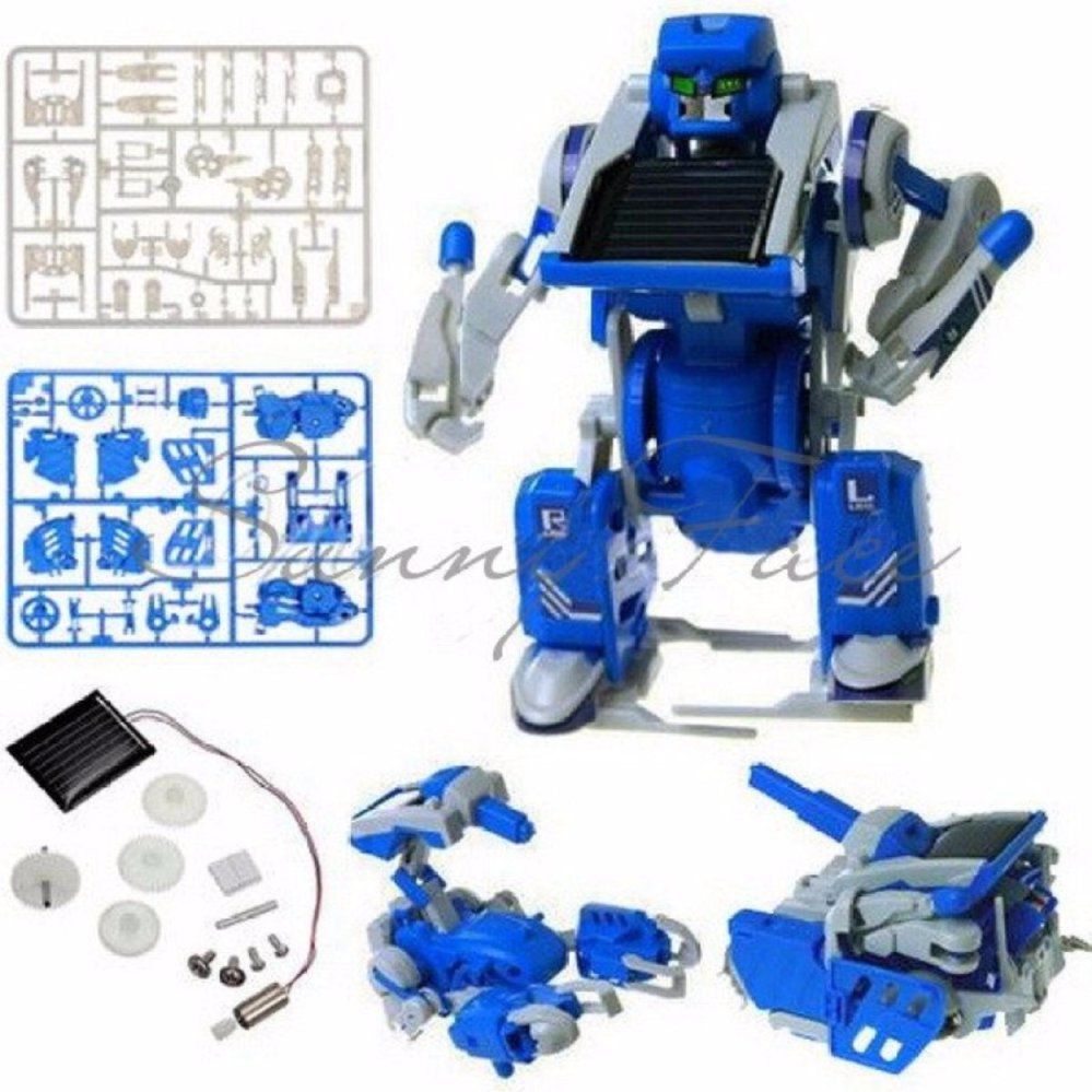Educational Solar Kit 3 in 1 DIY Hybrid Robot Toy / Mainan EdukatifTenaga Surya