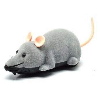 Detail Gambar Eigia Mainan Tikus R/C Remote Control Mini Mice Prank Toy Kids with