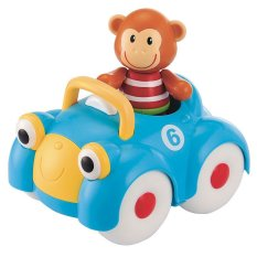 ELC Toybox Monty Monkey and his Motor Car