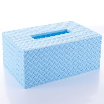 Elife Plastic Paper Napkin Holder Storage Case Creative Home Room Car Hotel Tissue Box - intl - 2